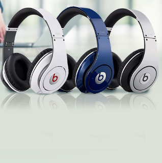 Beats by Dr. Dre Studio Headphones w/ In-Line Control & Mic Cable - 8 Colors!