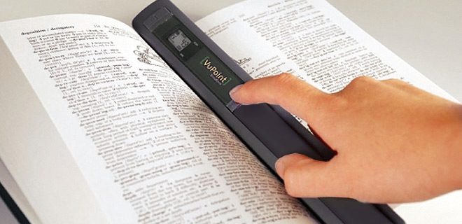 VuPoint Magic Wand Portable Scanner!