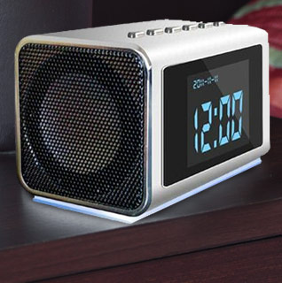 Foscam Clock Radio Hidden Video Camera DVR w/Up To 32GB Storage!