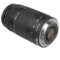 Deals on Canon Zoom Telephoto EF 75-300mm f/4.0-5.6 III Autofocus Lens