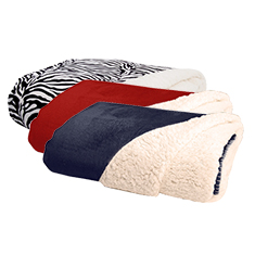 Plush Luxury Sherpa Throw