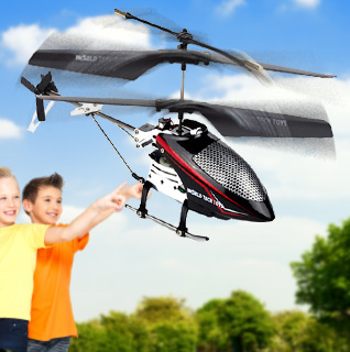World Tech Toys Saturn-X 2CH IR RC Helicopter