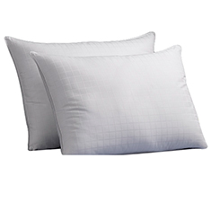 2-Pk: Gel Fiber Pillows