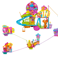 Polly Wall Party Play Set