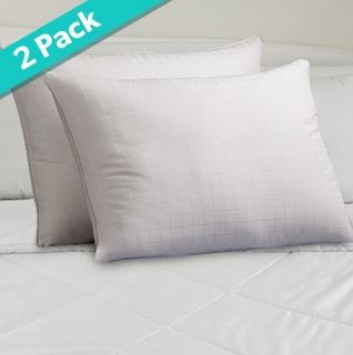 2-Pack Hypoallergenic Pillows