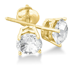 2 Ct Diamond Earrings