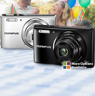 Olympus Stylus 14MP Digital Camera w/ 2.7