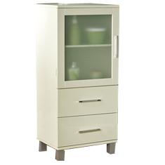 Two Drawer Linen Cabinet