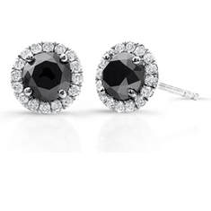 1 Ct Diamond Earrings