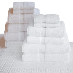 7-Pc 100% Cotton Bath Set