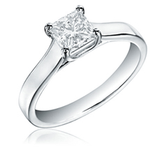 1/2Ct Diamond Engagement Ring