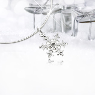 Snow-necklace