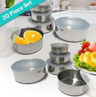 Stainless-steel-bowls