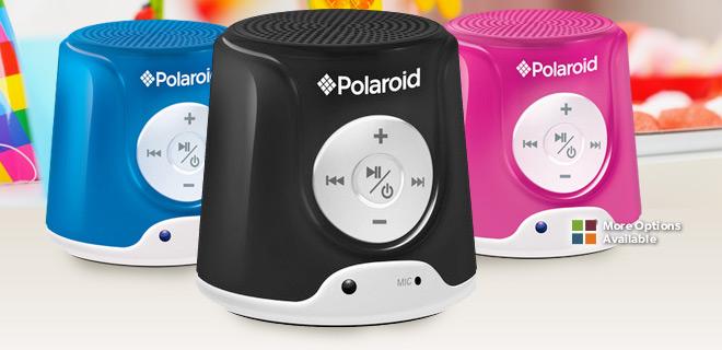 Polaroid-speakers