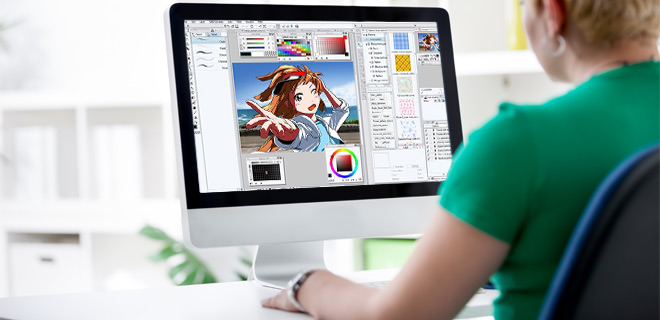 Top-Selling Graphics Studio: Anime Studio Debut, Manga Studio & DrawPlus – PC & Mac Compatible!