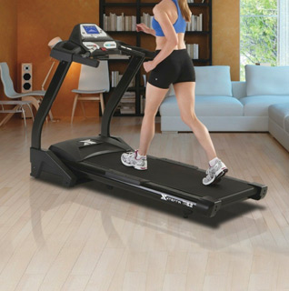 Xterra Fitness Trail Racer 6.2 Treadmill w/Folding Design, Adjustable Incline & Built-In Speakers!