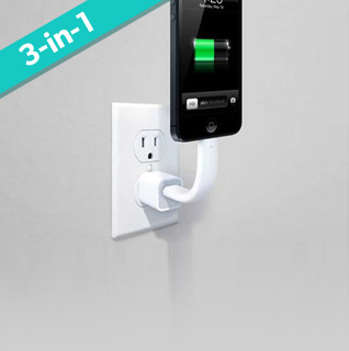 TOCC 3-in-1 Charger, Dock & Mount – Android & iPhone 5 Models Available!