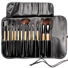 Makeup Brushes - 12Pc Set