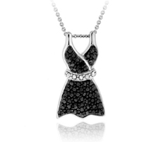 Black Dress Pendant