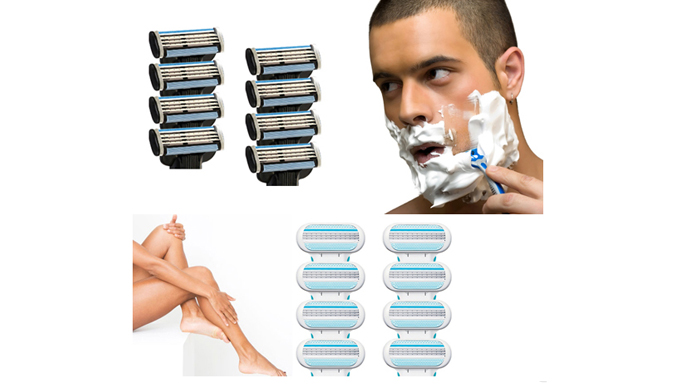 8-Pack Gillette Razor Blade Refill Cartridges