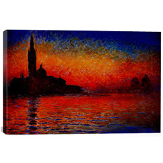 Sunset in Venice 26 x 18