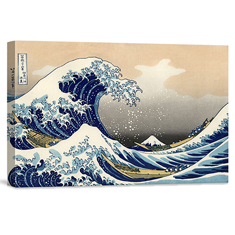 The Great Wave 26 x 18