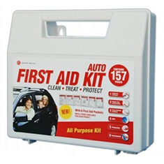 157-Pc First Aid Auto Kit