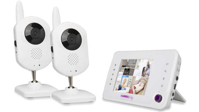 Lorex BB3521-2 Wireless Baby Monitor