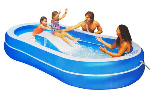 Slide N' Spray Pool