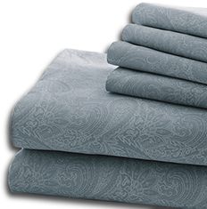 6-Pc Paisley Sheet Set