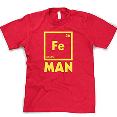 Chemical Element for Iron Man