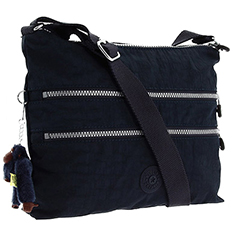 Navy Alvar Shoulder Bag