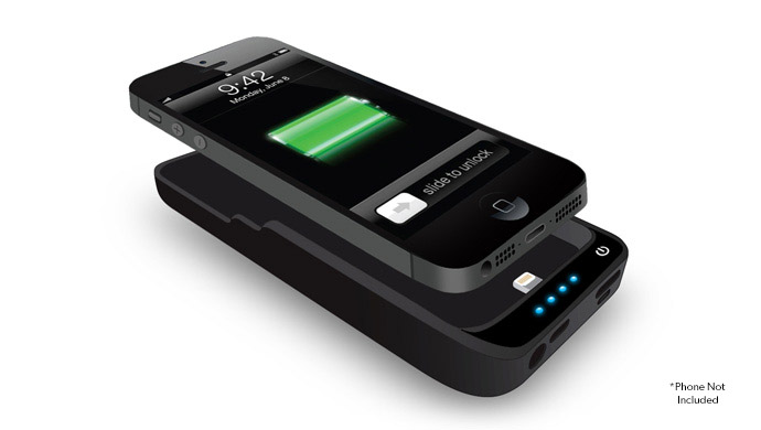 Universal iPhone 5 Power Pack Battery Case