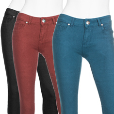 Paulina Stretch Denim Pants