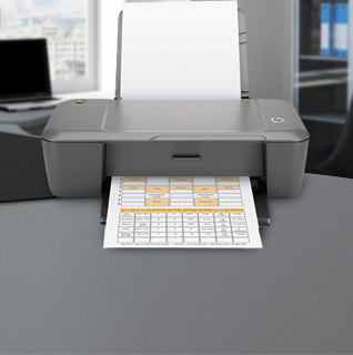 HP Deskjet 1000 Color Printer w/ Up to 16ppm, Two-Sided Printing, Eco-Friendly Design & Energy Star Qualified!