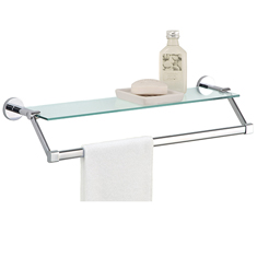 Organize It All Glass Shelf