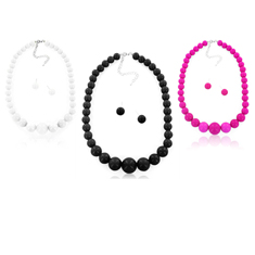Fashion Round Bead 2Pc-Set