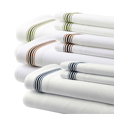 5 Line Embroidered Sheet Set
