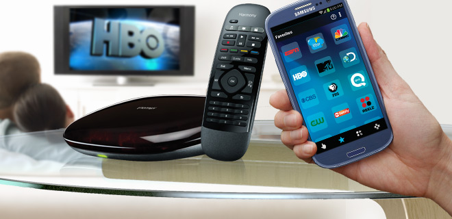 Logitech Harmony Smart Control – Control All of Your Home Theater's Device Through Your Smartphone (Refurb)!