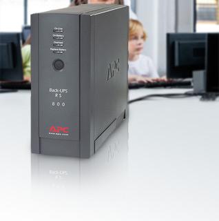 APC Back-UPS RS 800VA 120V Battery Backup w/ 4 Battery Backup Sockets & 3 Surge Protection Sockets!