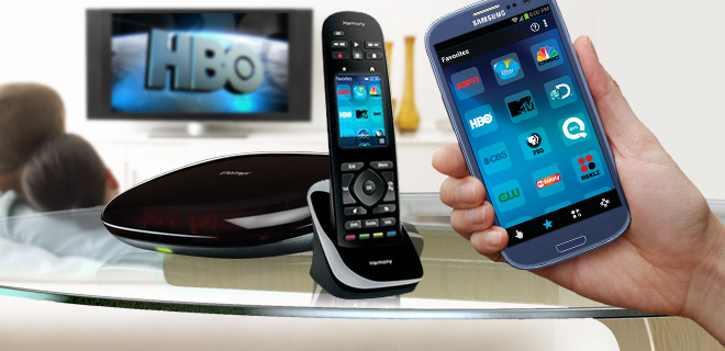 Logitech Harmony Ultimate Remote & App – Control Up to 15 Home Devices Via Remote or Smartphone - Refurbished!