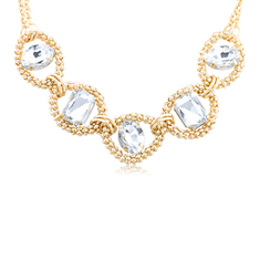 Fashion Gold Tone Necklace