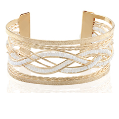 Fashion Gold Cuff Bracelet