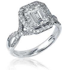 1 Ct Bridal Ring