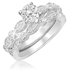 1 Ct Bridal Set