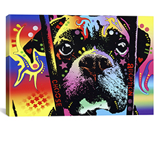Choose Adoption Boxer 26x18