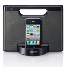 Sony iPhone Speaker Dock