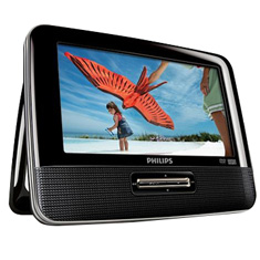2 Screen Portable DVD Player