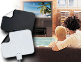 Thin HDTV Antenna