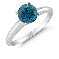 1 Ct London Blue Ring